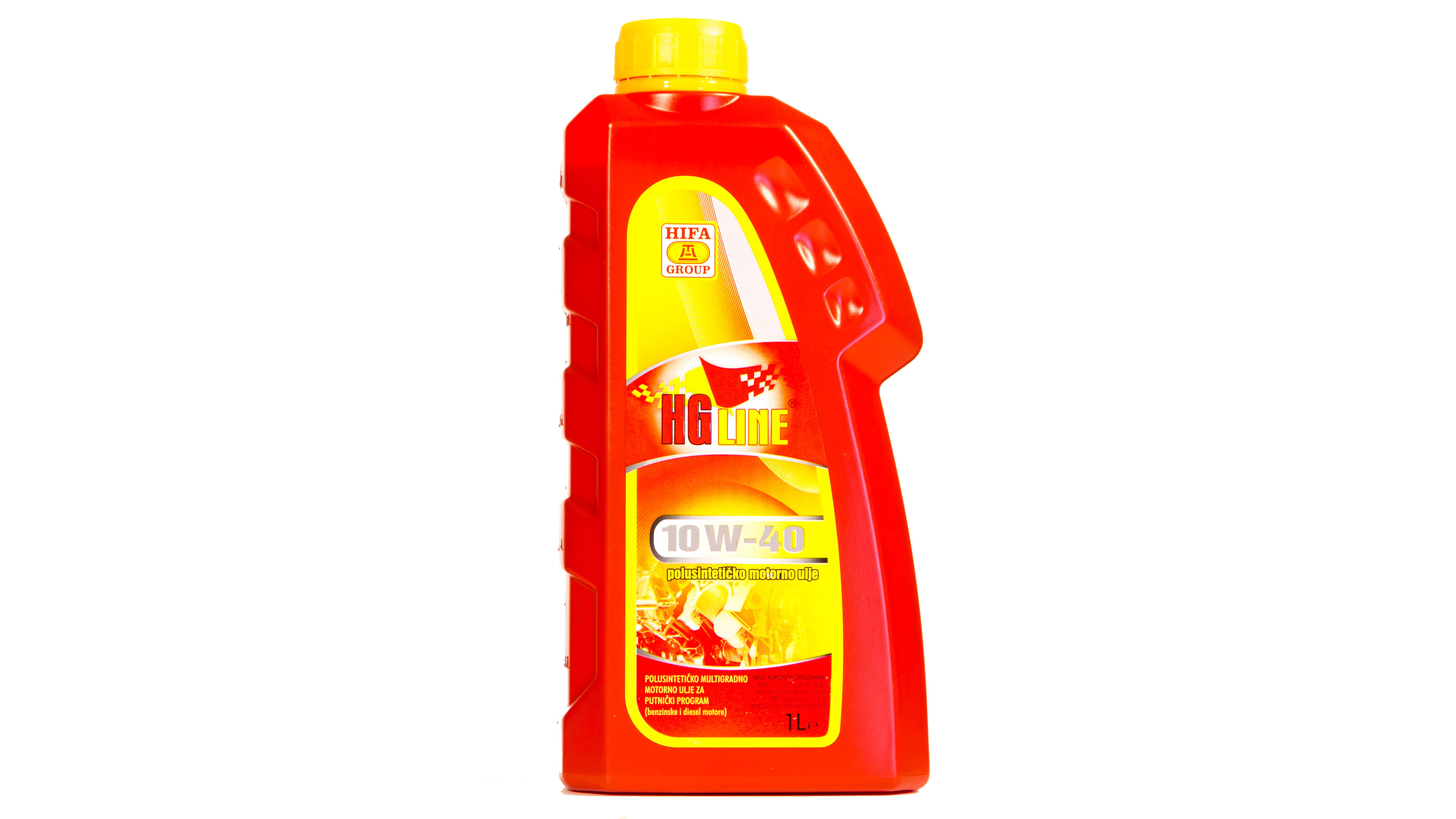 HGline 10W-40 -  Semi-synthetic multigrade engine oil