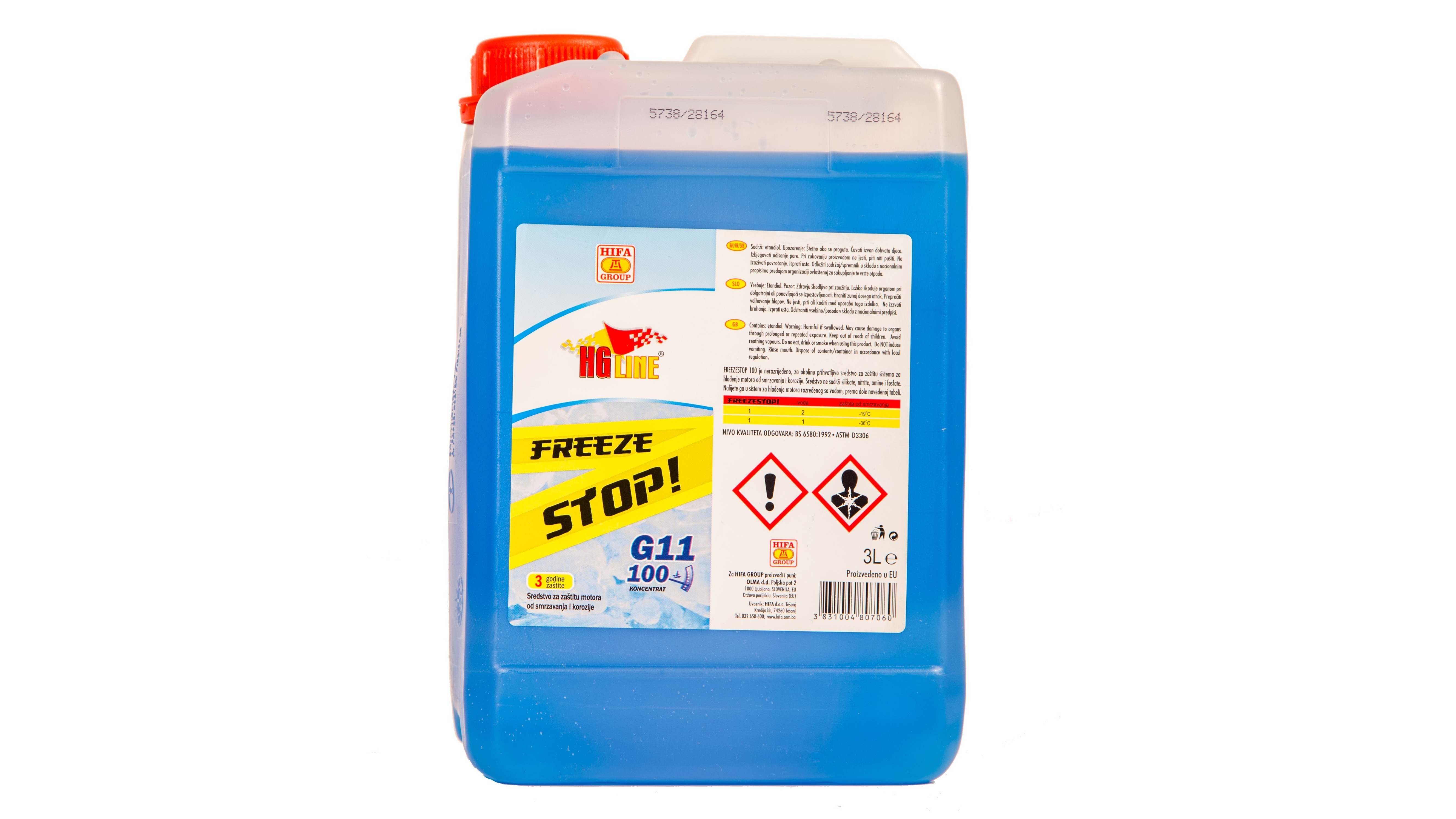 Freeze Stop G11 100  koncentrat 3 l